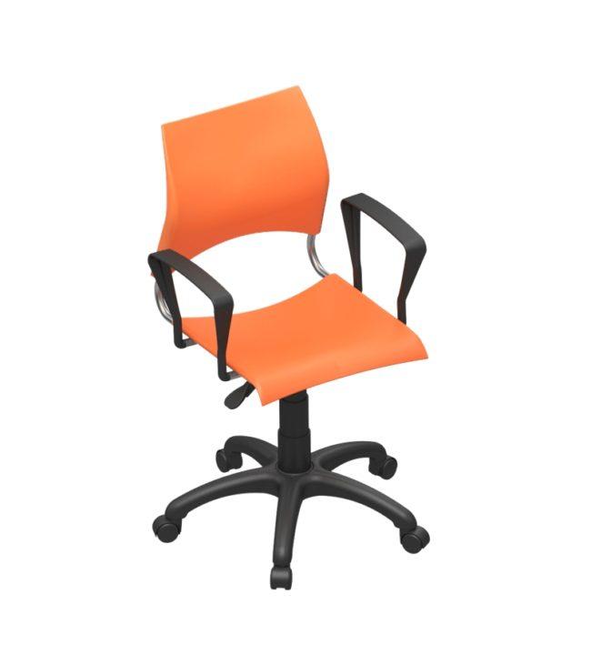 cadeira comodita giratória com braço