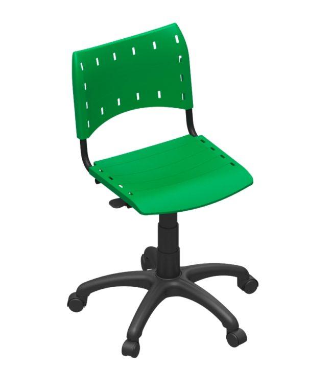 cadeira compact base giratória