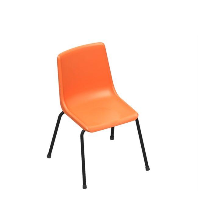 cadeira concha 4 pés