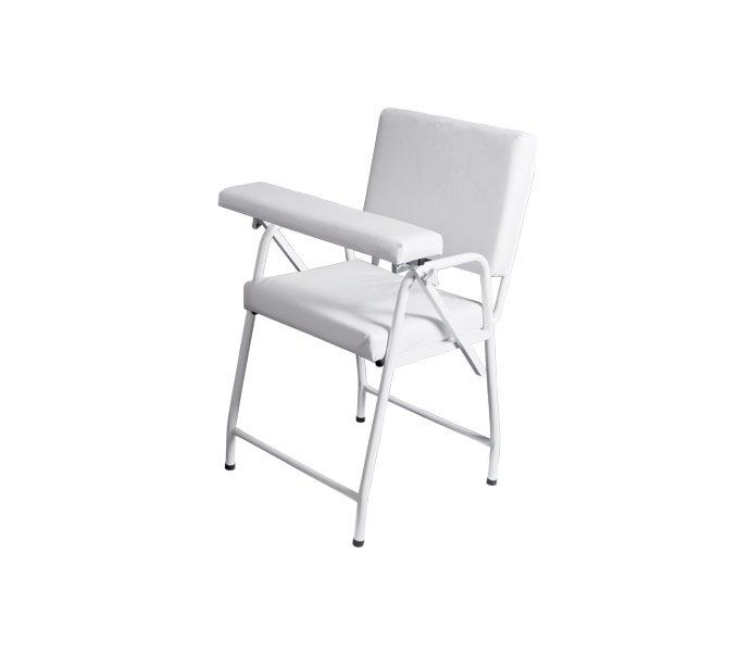 Cadeira de coleta estofada