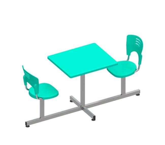 conjunto piacere cadeira acoplada