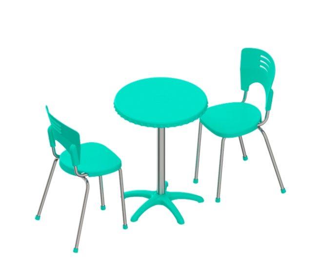 conjunto piacere mesa redonda