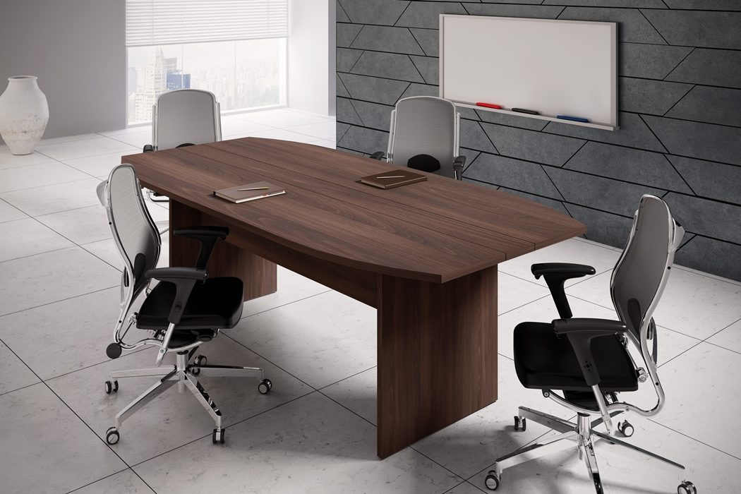 Mesa de reunião retangular-_25mm