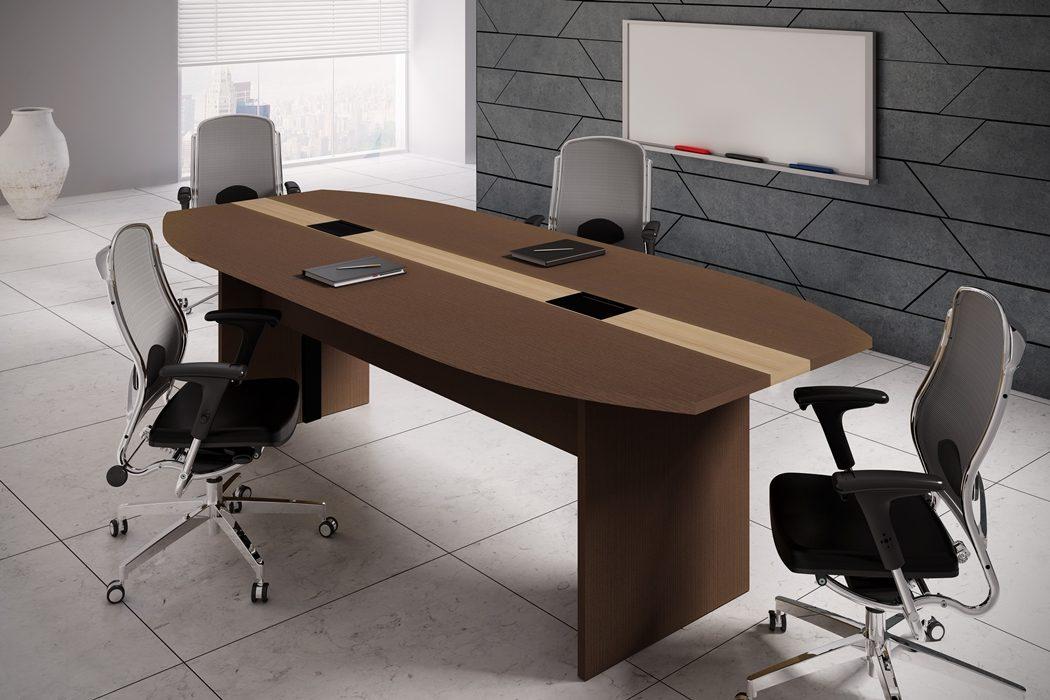 Mesa de reunião retangular-_25mm_com_calha