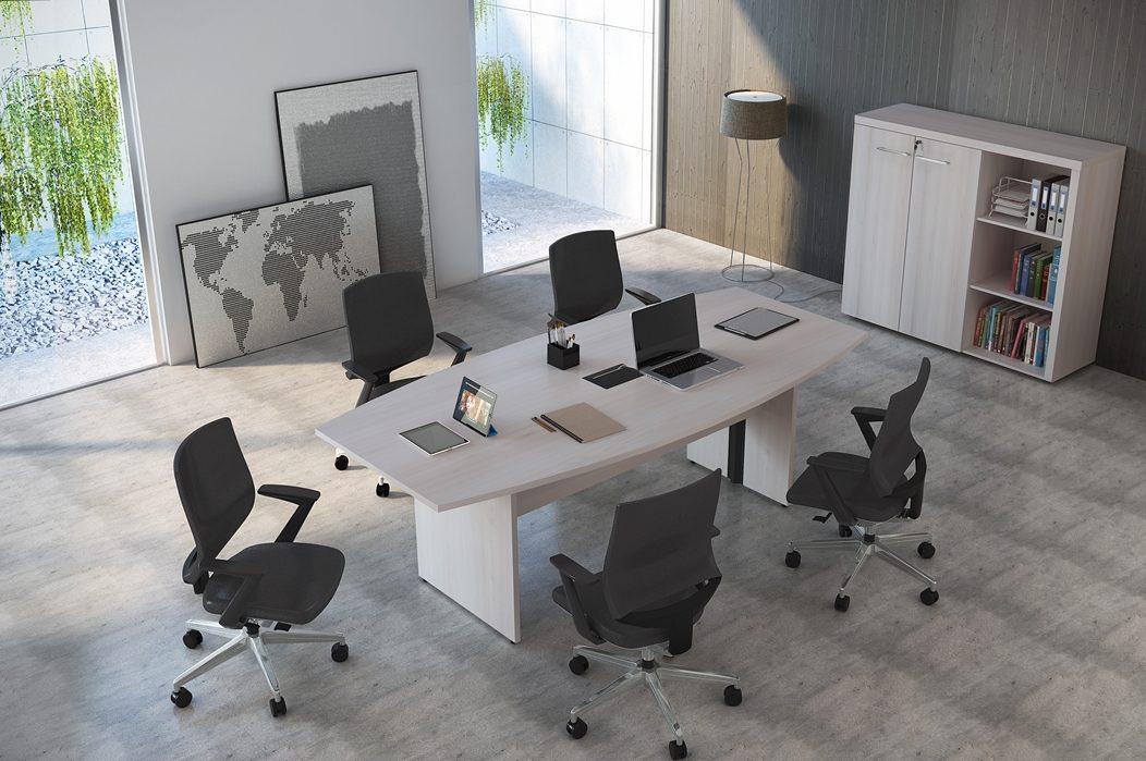 Mesa de reunião retangularmesa_ret-_25mm_com_calha