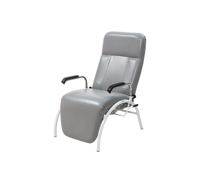 poltrona hospitalar reclinavel braço removível