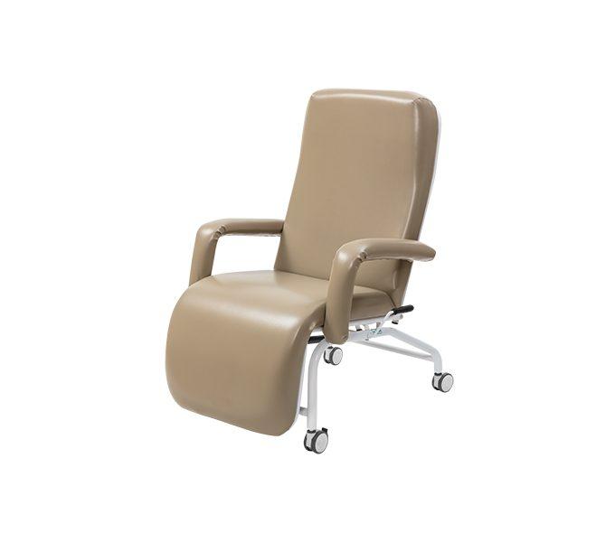 Poltrona hospitalar reclinavel com rodízio
