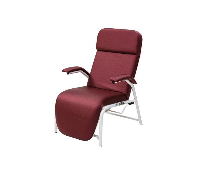 Poltrona hospitalar reclinavel ferro