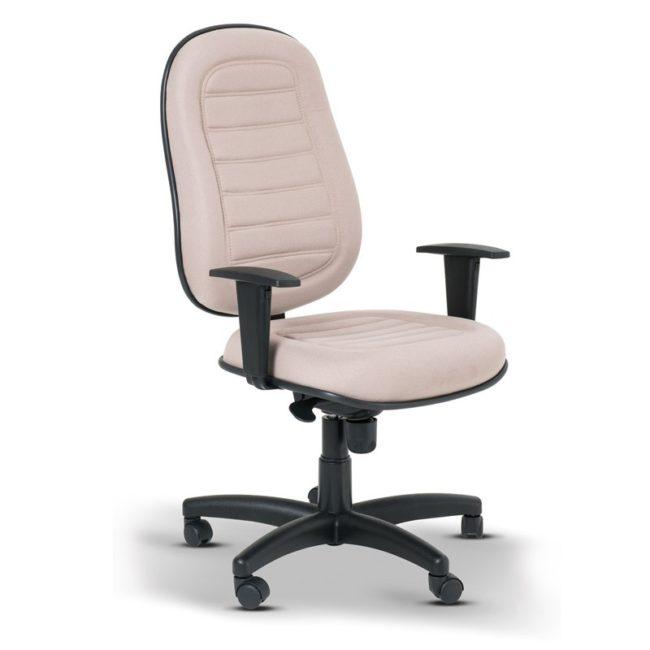 Cadeira Presidente braço regulável