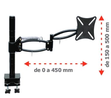 Suporte para monitor LCD Alpha A (2)