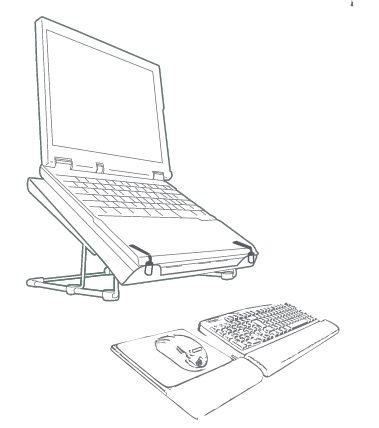 Suporte para notebook Orus Steel (2)