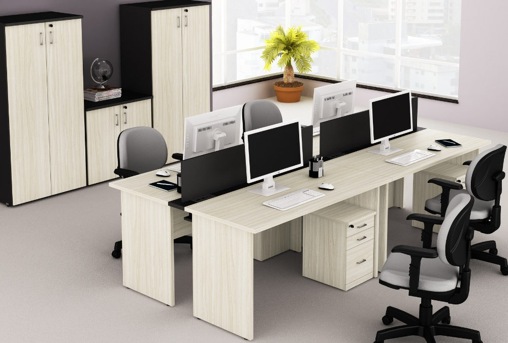 Plataforma de trabalho ideal para seu escritorio