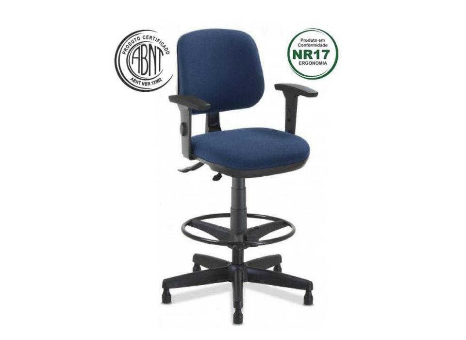 Cadeira Start base caixa com braços
