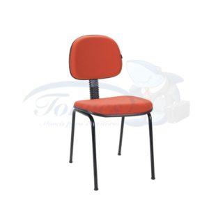 Cadeira Secretária Clio plus fixa 4 pés