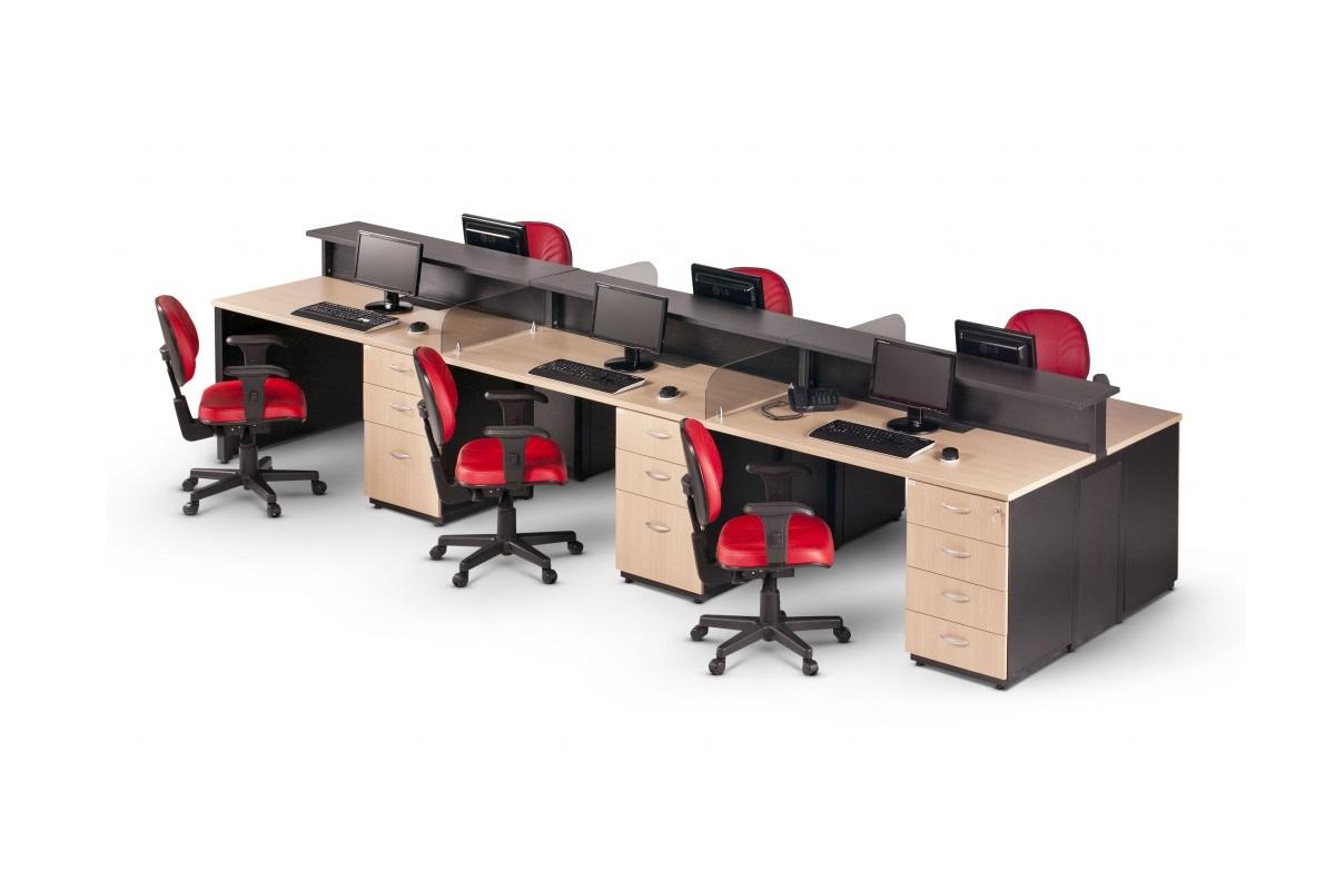 Plataforma de trabalho para escritórios