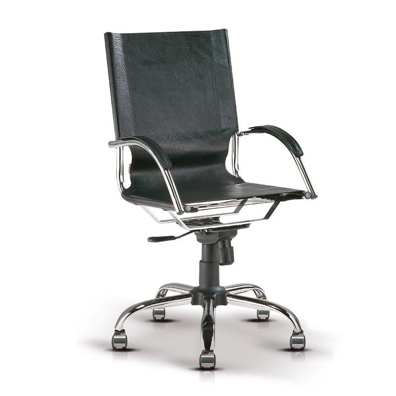 cadeira Presidente tubular