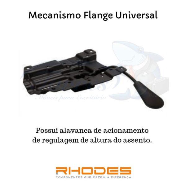 imagem e explicação do flange universal
