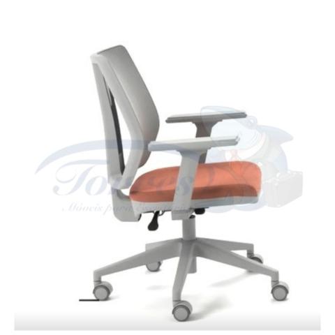 cadeira Torres Addit encosto tela