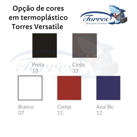 Opção de cores de assento e encosto em termoplástico