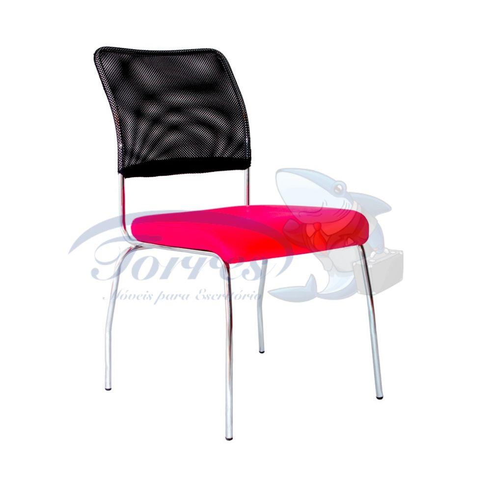 Cadeira Torres Aisha 4 ´pés fixa sem braço