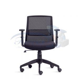 Cadeira Diretor Torres Joy base giratória e braço regulável