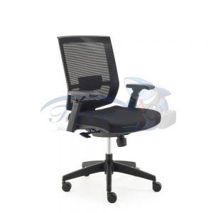 Cadeira Diretor Torres Monza base giratória e braço regulável