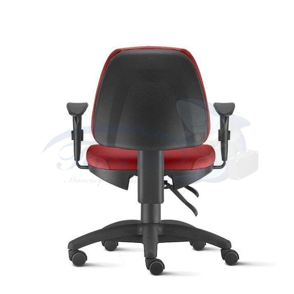 Cadeira Digitador Torres Sky base giratória com braço regulável