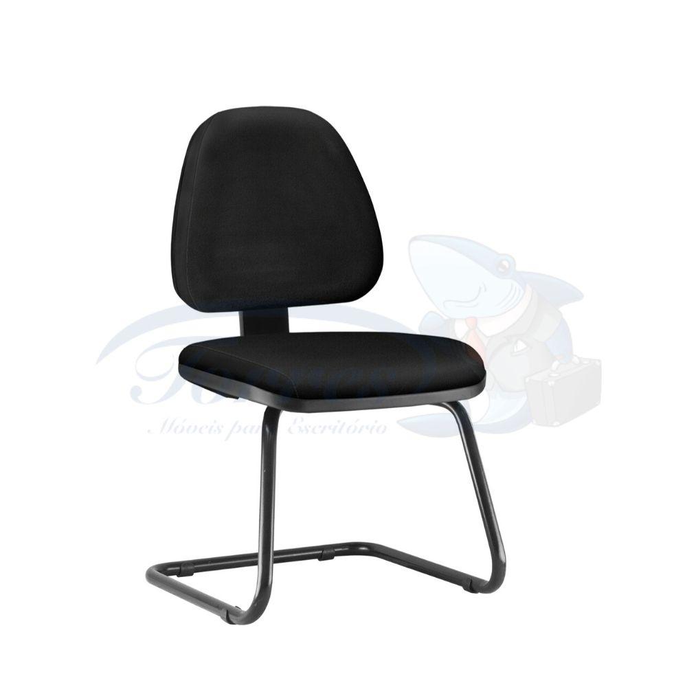 Cadeira Secretária Torres Sky fixa sem braço
