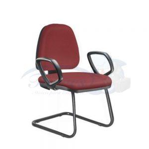 Cadeira Secretária Torres Sky fixa com braço fixo