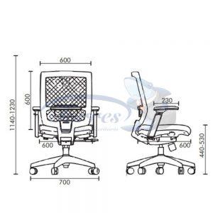 Medidas Cadeira Torres Monza