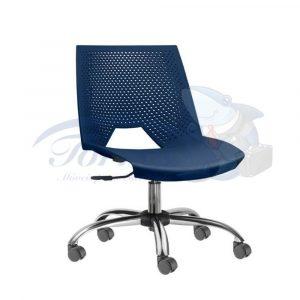 cadeira com assento e encosto em polipropileno strike