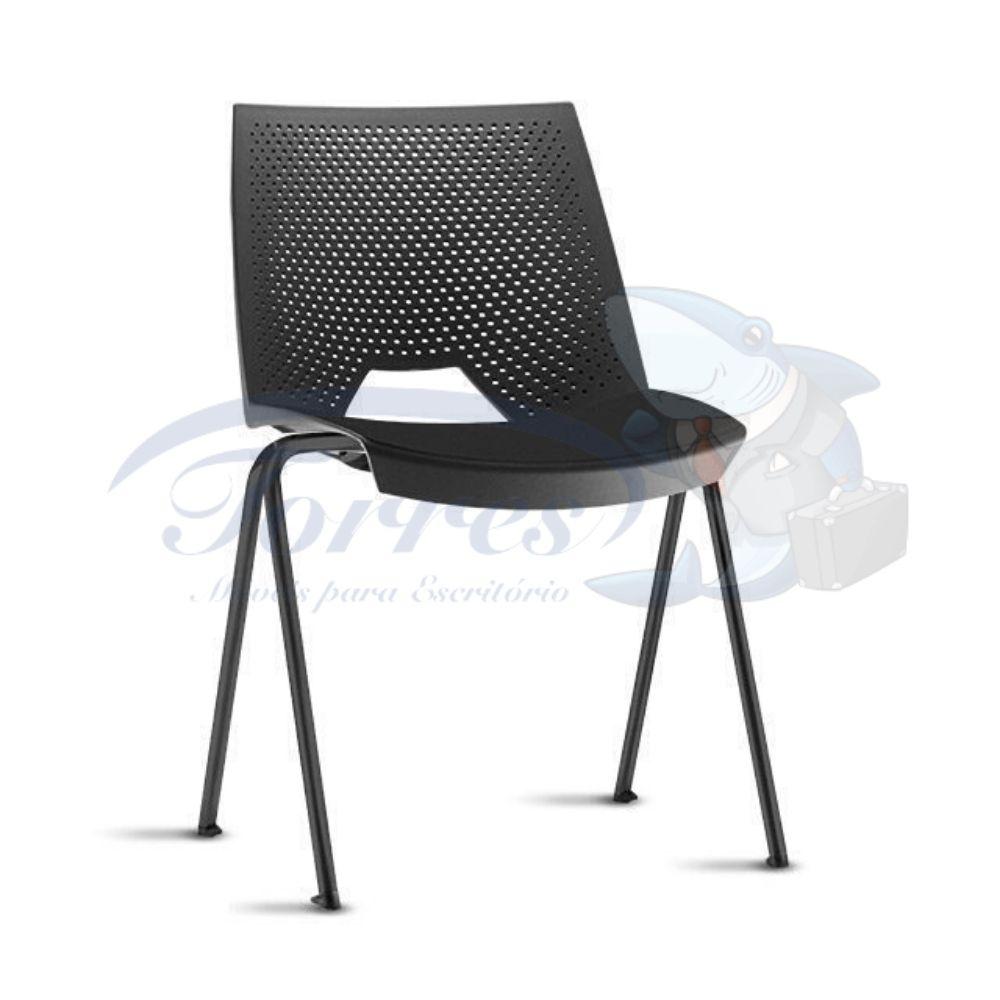 Cadeira strike fixa preta