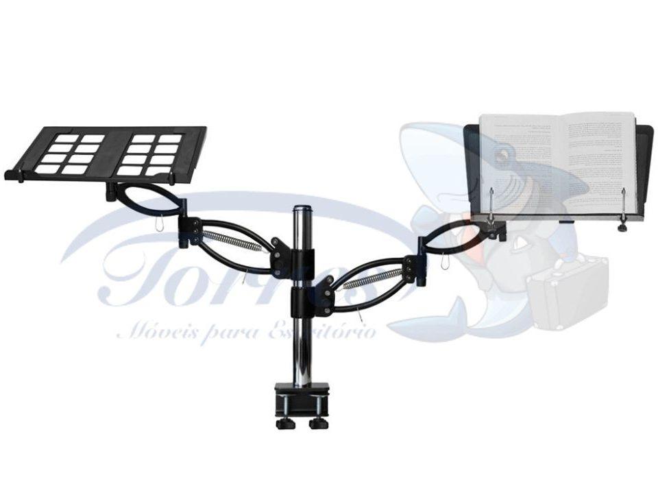 suporte para notebook e livros modelo TOR1157/6