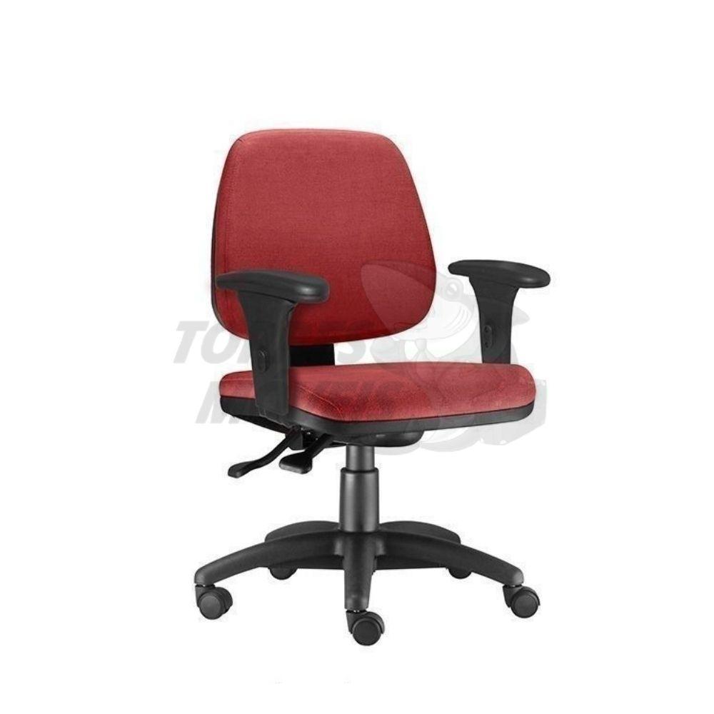 cadeira JOB baixa braços com regulagem