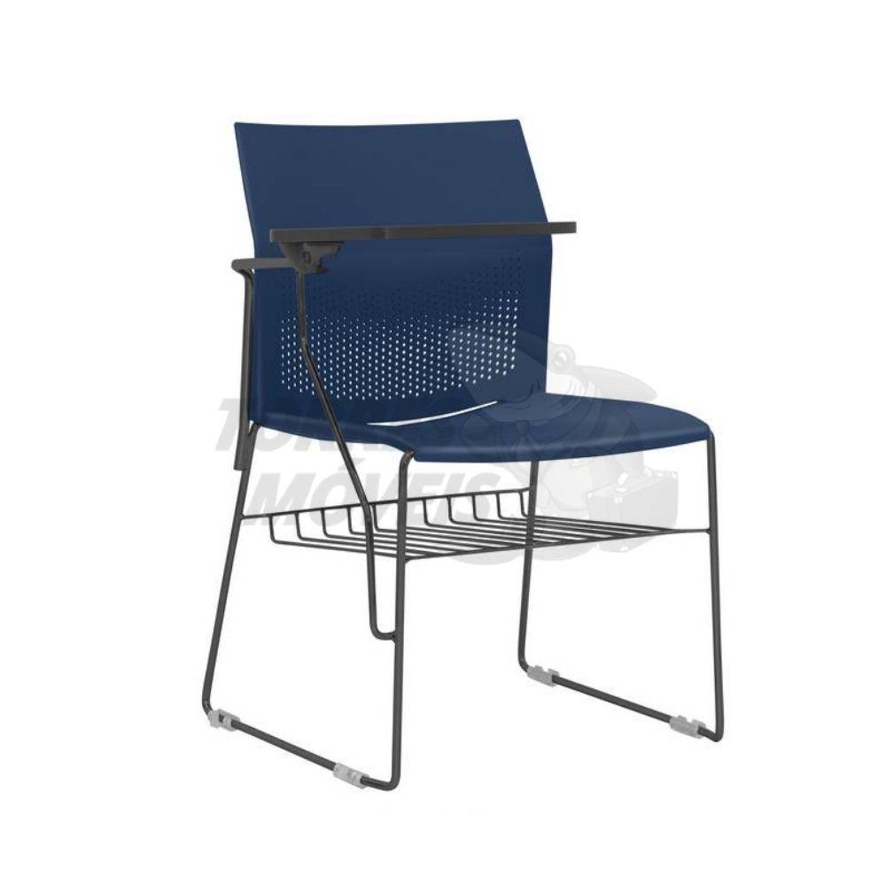 cadeira connect com prancheta e gradil