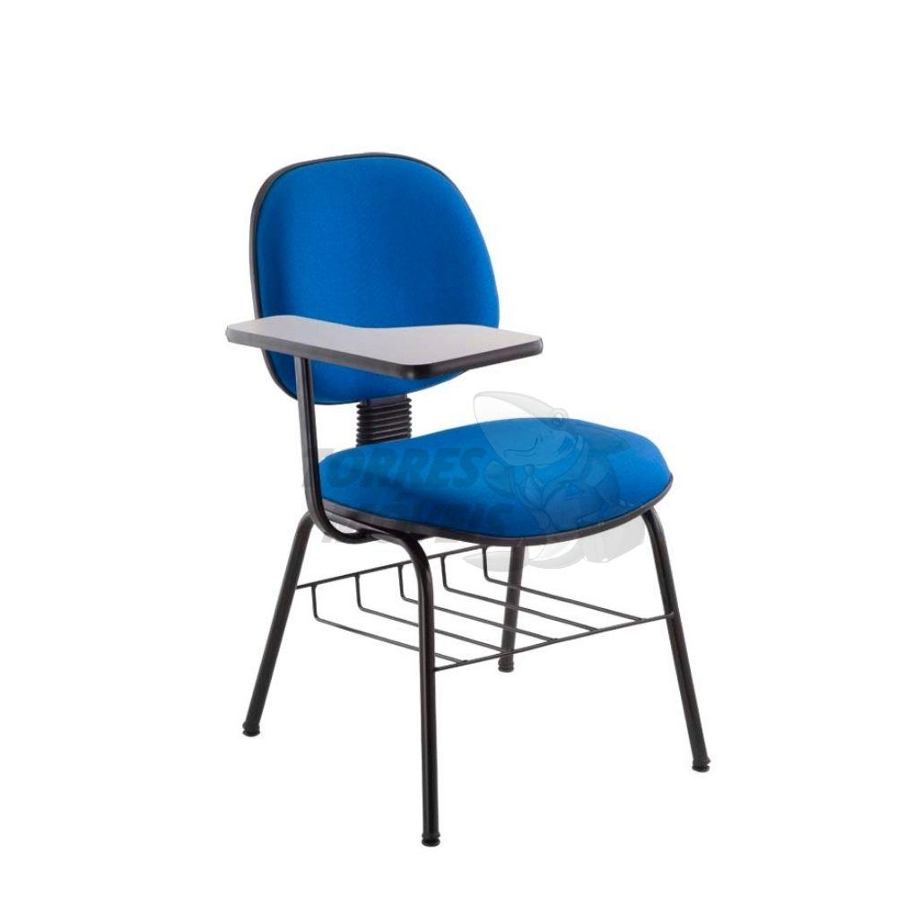 Cadeira Torres Dallas executiva 4 pés com prancheta