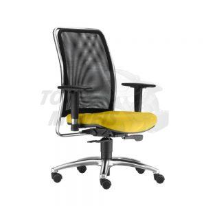 Cadeira Torres Soul com encosto em tela sem apoio de cabeça