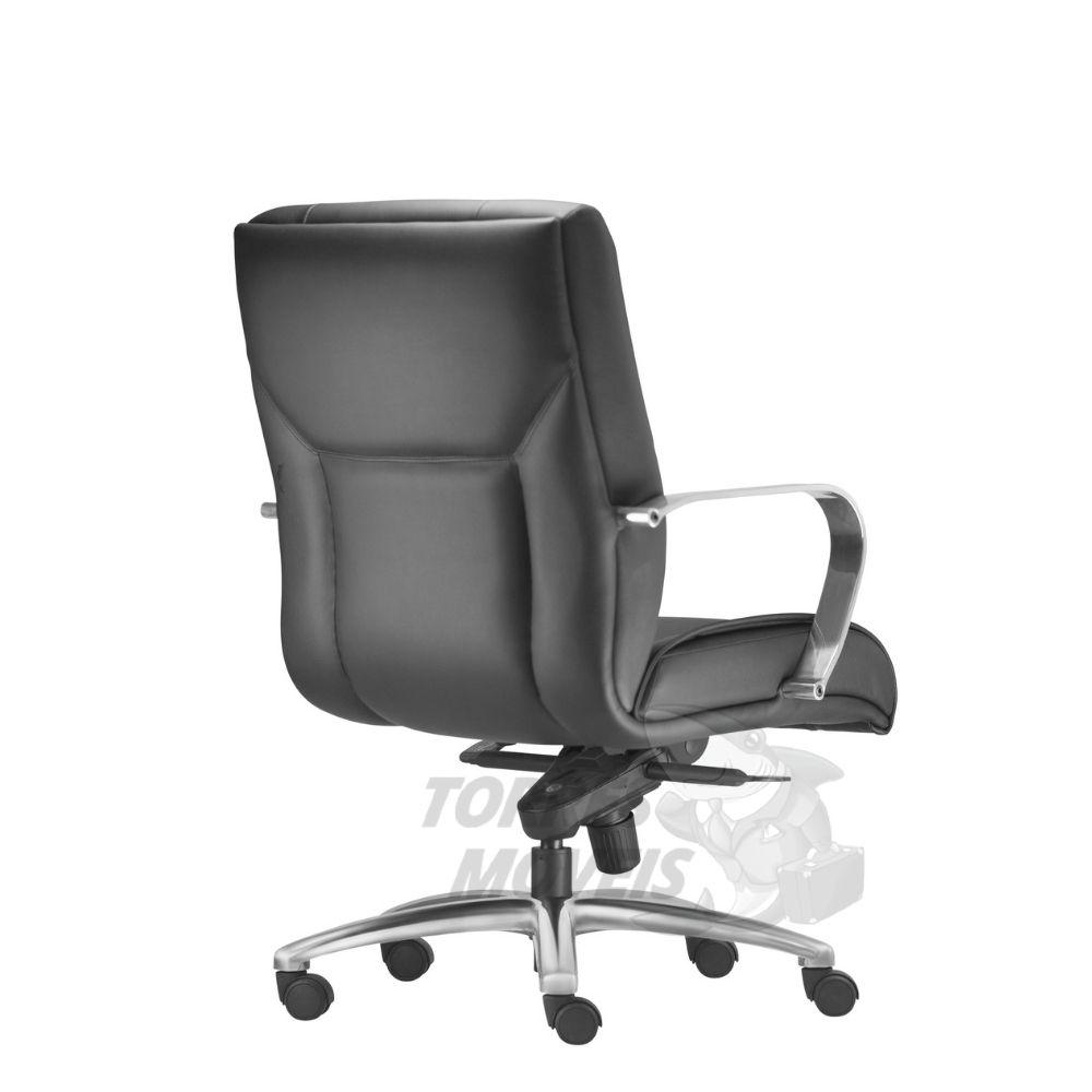 Cadeira Diretor Torres New Onix base cromada