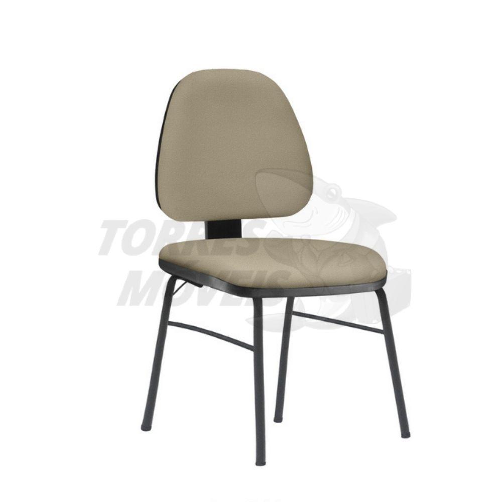 Cadeira Torres Sky 4 pés fixa sem braço