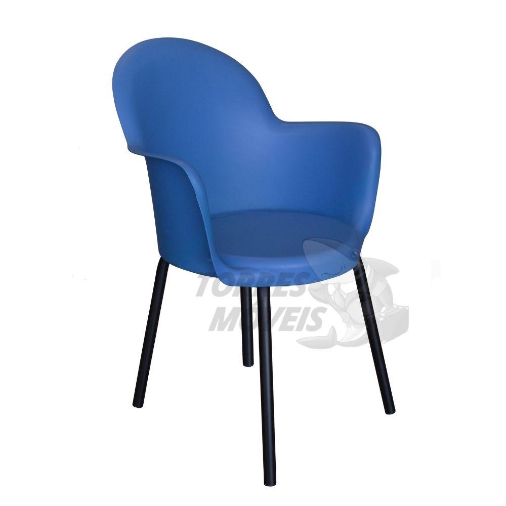 cadeira Boston 4 pés com braços