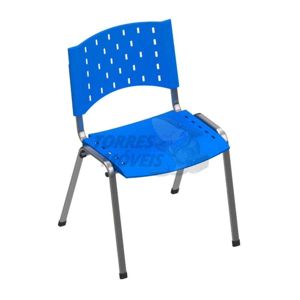 Cadeira fixa 4 pés torres Lia