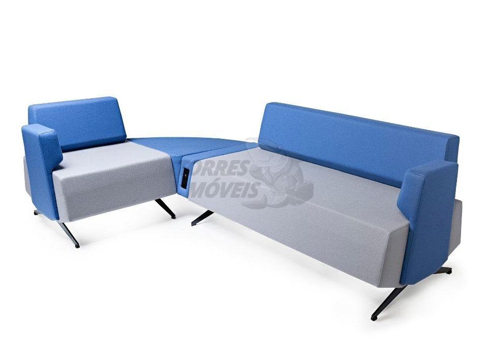 sofá corporativo Torres Clever