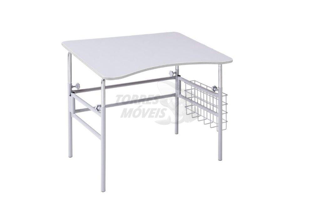 mesa escolar para cadeirante com inclinação