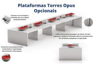 Opcionais Plataformas Torres Opus